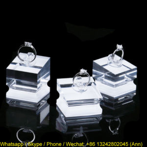 Hot Selling Acrylic Ring Storage Box pictures & photos