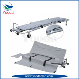 Aluminum Alloy Folding Stretcher with Body Bag pictures & photos
