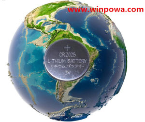 Powerful 3V Lithium Button Watch Dry Battery (CR2025) pictures & photos