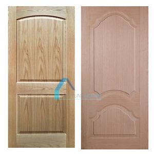 High Level Natural/EV Ash Veneer Mould Door Skins pictures & photos