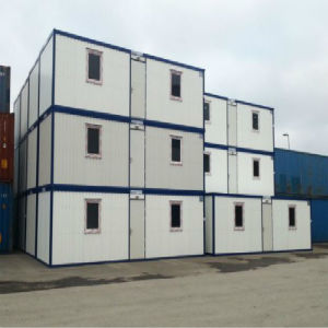 Steel Structure Flat Pack Container House (KXD-CH42) pictures & photos