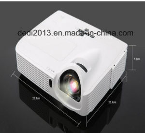 3D DLP LED Projector for Multimedia Video pictures & photos
