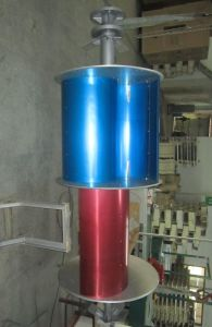 5kw Vertical Axis Wind Turbine Generator (VAWT from 200W to 10KW) pictures & photos