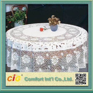 PVC Lace Table cloth by Piece pictures & photos