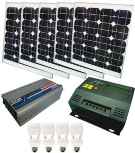 200W off-Grid Solar PV Power System pictures & photos