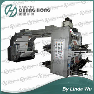 Coated Paper Flexo Printing Machine (CH884) pictures & photos