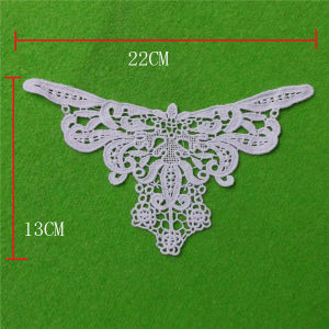 Eyelet Appliques Necklace with Soft Cotton (cn78) pictures & photos