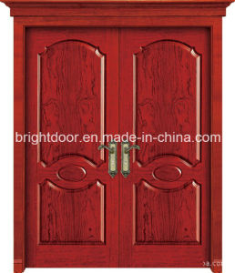 Villa Entrance Double MDF Wood Design Door Panel Designs Supplier pictures & photos