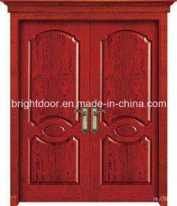 Villa Entrance Double MDF Wood Design Door Panel Designs Supplier pictures & photos
