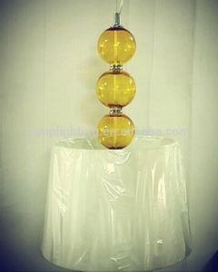 New Design Simple Decorative Glass Ball Pendant Lamp pictures & photos