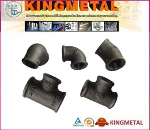 ASTM A197 A153 DIN 150# Black Malleable Iron Pipe Fittings pictures & photos