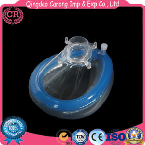 Medical Disposable PVC Anesthesia Mask pictures & photos