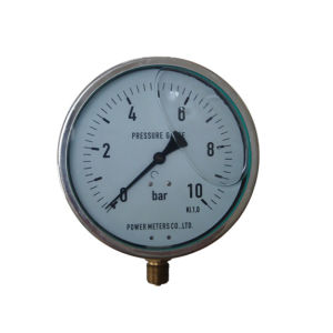 6inch-160mm Half Stainless Steel Bottom Pressure Gauge pictures & photos