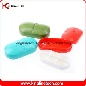 Plastic 6-Cases Pill Box (KL-9090) pictures & photos