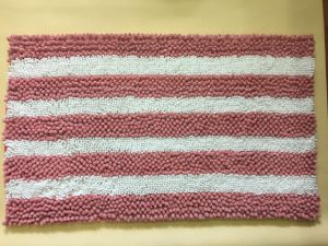 Chenille Yarn Dyed Bath Mat Rugs pictures & photos