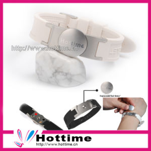 2013 Negative Ion Silicone Energy Sport Bracelet pictures & photos