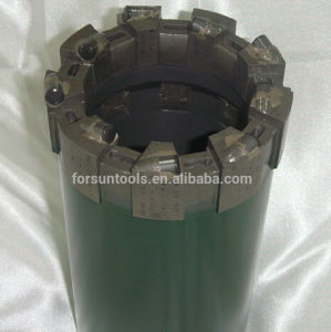 Face Discharge Dome Cutters 412 PDC Core Bit pictures & photos