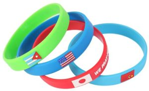Fashionable Exercise Wristband Watch, Hottest European Style Cheap Rubber Wristband