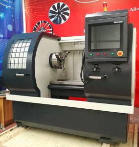 Alloy Wheels Repair Polish Machine Electric Turret CNC Lathe Awr2840PC pictures & photos