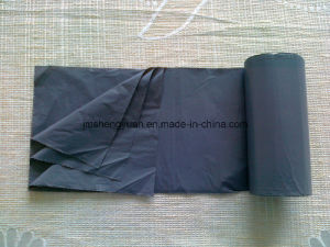 HDPE Plain Star Sealed Plastic Trash Liner pictures & photos