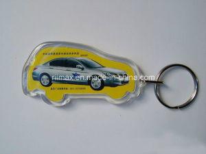 Manufacturer Plastic Acrylic Car Shape Keyring