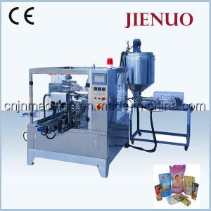 Automatic Rotary Premade Bags Pouch Liquid Packing Machine pictures & photos