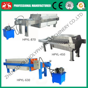 Hydraulic Chamber Cooking Oil Filter Press Machine (0086 15038222403) pictures & photos