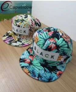 6 Panel Colorful Printing Fabric Snapback (01118) pictures & photos