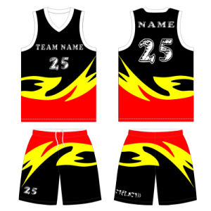 Custom Boys and Girls Sublimated Basketball Uniform with High Quality pictures & photos