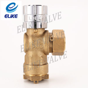 Magnetic Brass Lockable Ball Valve for HDPE Pipe