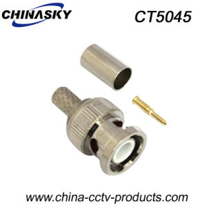 Crimp on Male CCTV BNC for Rg59 Coaxial Cable (CT5045) pictures & photos