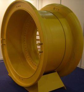 57X27.00/6.0 OTR Steel Rim Wheel for Cat793 Cat789 Komatsu 730e 830e Mining Dump Truck