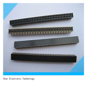 China Factory 1.27mm Pitch Female Double Row Pin Header pictures & photos