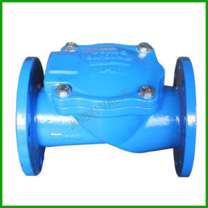 Cast Iron Flange End Rubber Flap Check Valve pictures & photos