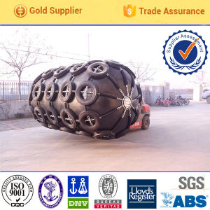 Hot Sale in Spanish Inflatable Rubber Pneumatic Fender pictures & photos