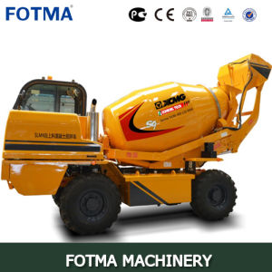 XCMG Slm4 Self-Feeding Concrete Mixing Truck pictures & photos