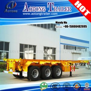 40 Feet Container Skeleton Semi Trailer, Chassis Trailer pictures & photos