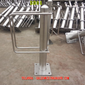 Metal Ground-Mounted Bike Rack Br01 pictures & photos