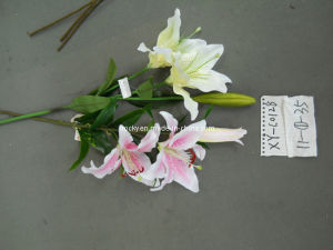 Gray Silk Flowers (XF-C0128)