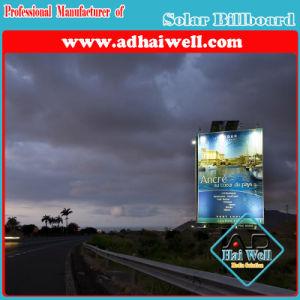 Hot-DIP Galvanized Steel Billboard Solar Advertising pictures & photos