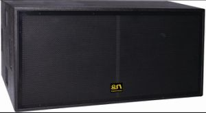 Professional Dual 18 Inch Subwoofer Speaker Box/Subwoofer (B218) pictures & photos