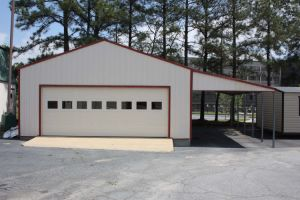 Easy Installation Steel Structure Car Garage (KXD-SSW143) pictures & photos