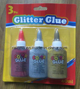 40ml Glitter Glue with Silver and Gold Color pictures & photos