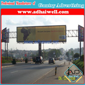 Gantry Spanning a Road Trivision Display Billboard (W12 X H3) pictures & photos