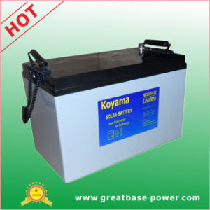 First Grade Quality Solar Storage Battery 12V100ah pictures & photos