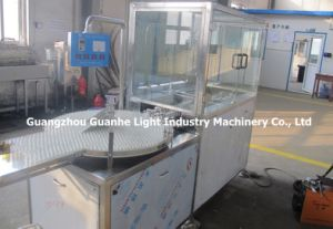 Automatic Ultrasonic Bottle Washing Machine for Small Glass Bottles (GHUXP-2) pictures & photos