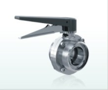 Butterfly Valve Ss 304 Weld (DIN 11850 ) pictures & photos