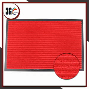 PVC Backing Double Line Ribbed PP Mat pictures & photos