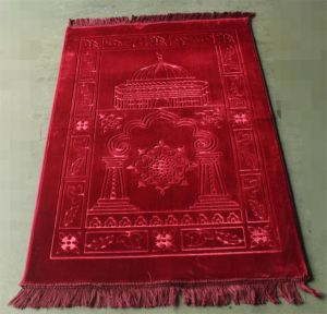 Best Quality Wool Roll Luxury Wool Muslim Rug pictures & photos