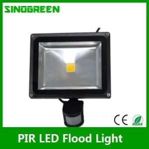 Waterproof PIR LED Flood Light 50W Ce RoHS